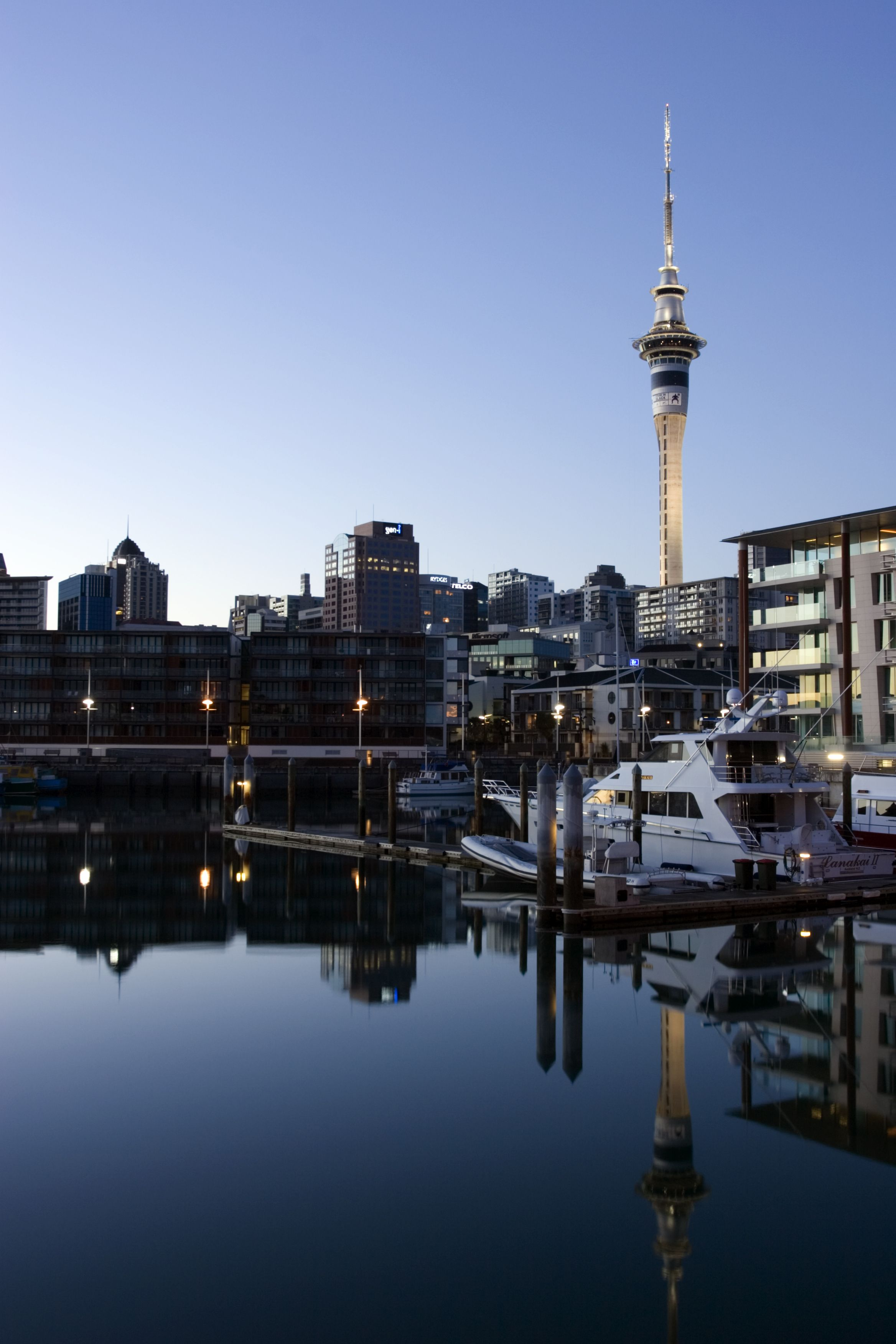 New Zealand city view