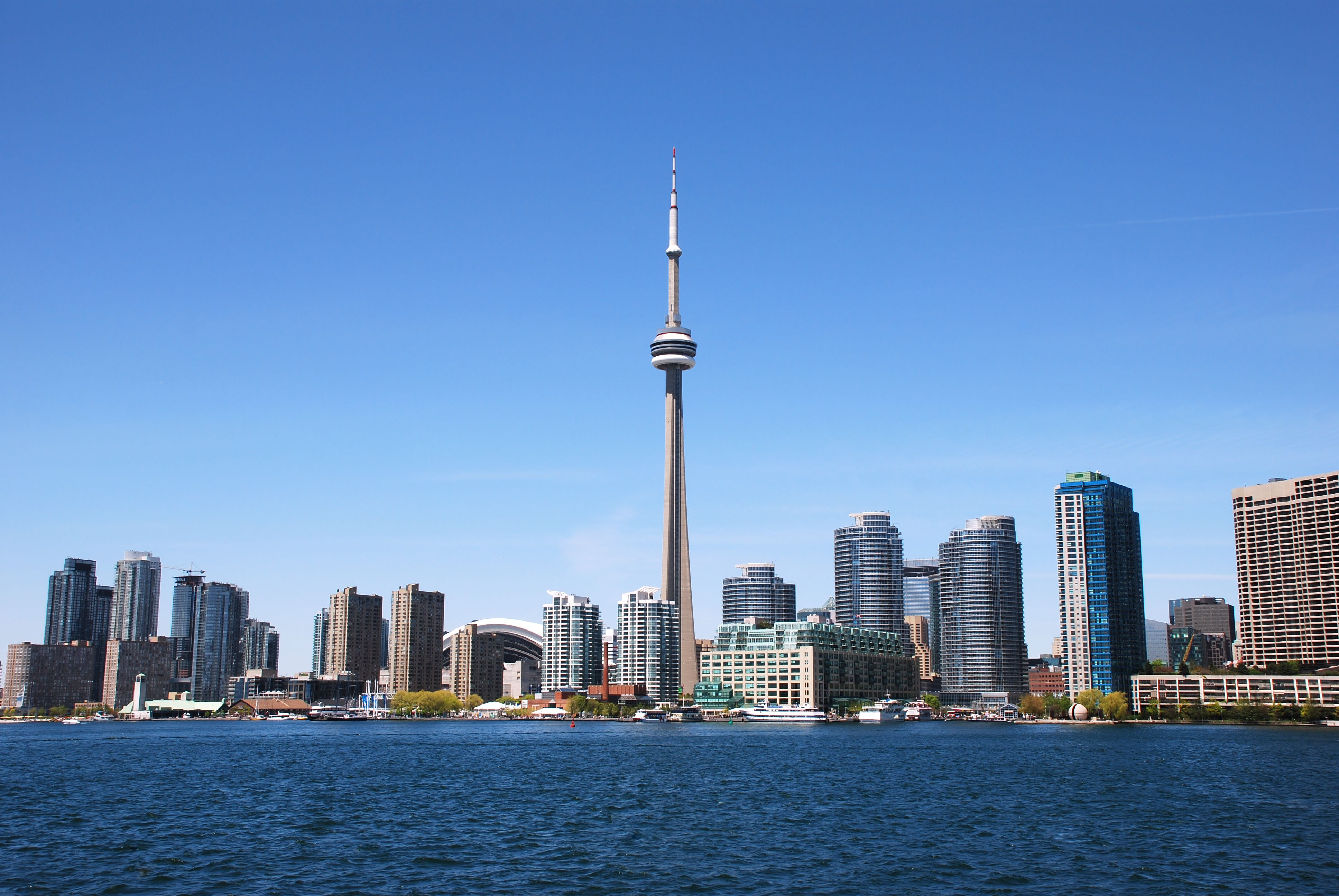 Canadian city skyline