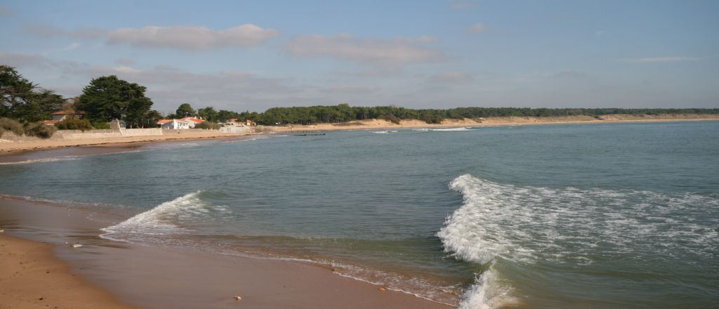 Typical Vendee coastline