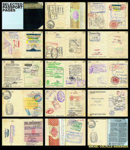 images of passport pages