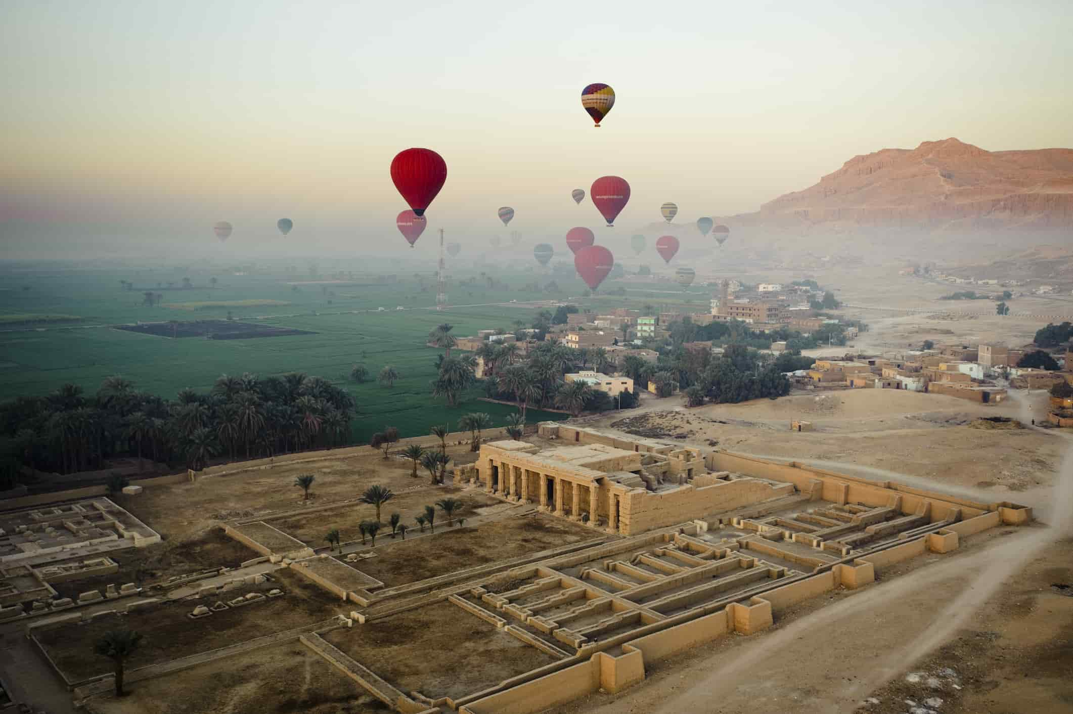 overview of tourist attractions in Egypt